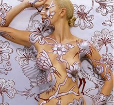 If It's Hip, It's Here (Archives): Emma Hack Takes Body Art To A New Level With Her Latest Collection