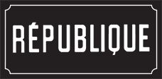 Republique - LA Restaurant Recommended by Napa Waiter who used to work in LA.             624 South La Brea Avenue, Los Angeles, CA 90036  Tel. 310.362.6115