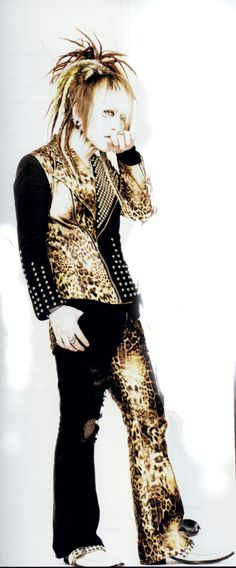 Ruki, Filth In The Beauty look. \(^o^)/