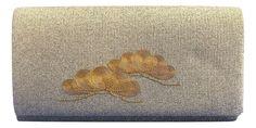 "Vintage Kimonos - Gold ""pine tree"" vintage clutch bag, $63.00 (http://www.vintagekimonos.com/gold-pine-tree-vintage-clutch-bag/)"
