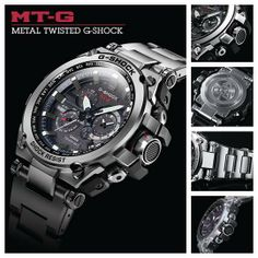 The Metal Twisted G-Shock MTGS1000D-1A watch is now available at a retailer near you!  Find a retailer near you! http://g-shock.com/watches/MT-G/MTGS1000D-1A