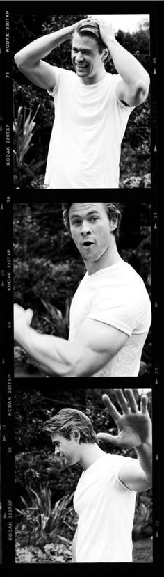 Chris Hemsworth <3 <3 <3 <3 <3 <3