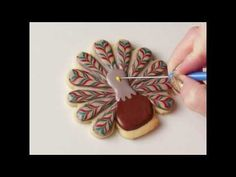 Marbled Turkey Cookies Tutorial | Go Bold With Butter