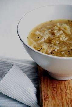 Trufla: Cebula. Zupa.