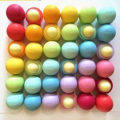 Love this pic! Cannot live without my EOS!!!!!!!! My favorite's the Lemon Drop! #Eos #favorite #LemonDrop