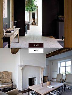 Black + White from Beta - Plus & Destined to Design Blog