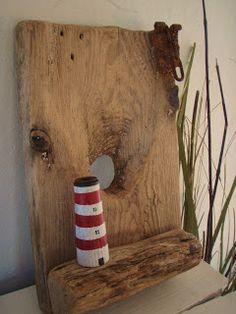 Roo Alexander Designs: Chunky Driftwood lighthouse