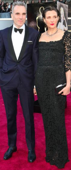 Daniel Day Lewis & his wife Rebecca Miller, an actress & director, and the daughter of playwright Arthur Miller