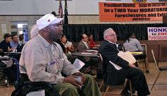 """A call for """"foreclosure-free zones"""" at Detroit """"people's hearing"""""""