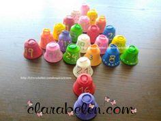 Calendario de Adviento para niños hecho con cápsulas de Nespresso y globos - Inspiraciones: manualidades y reciclaje