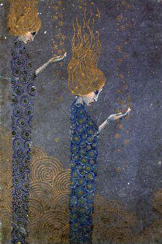Vittorio Zecchin (1878-1947)  Le Stelle (The Stars), undated Wolfonsian Museum, Miami.  Via thebluelantern. Thanks.