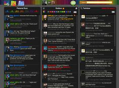 Twimbow. This Twitter client offers so much, it's by far my favorite.