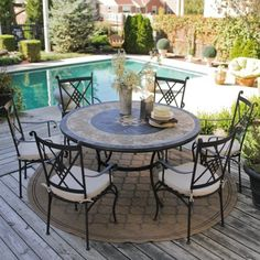 round patio furniture sets jallennet patio furniture sets pinterest round patio table patio table and patios