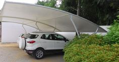 get instant quote for car parking tensile structure http://www.fabstructure.in/category/outdoor-shade-structures/car-parking-garage-sheds/