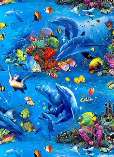 Children of the Sea 2 - Diving with Dolphins - Ocean
