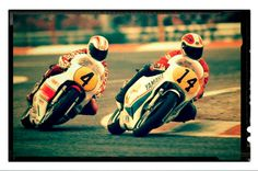 Jack Middleburg & Johnny Cecotto - French GP 1981