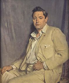 Portrait of Count John McCormack, 1923 by Sir William Orpen Francis Count McCormack – was a world-famous Irish tenor, celebrated for his performances of the operatic and popular song repertoires, and renowned for his diction and breath control. High Society, Wassily Kandinsky, Gustav Klimt, Figure Painting, Painting & Drawing, Life Drawing, Painting Frames, Irish Painters, Hokusai
