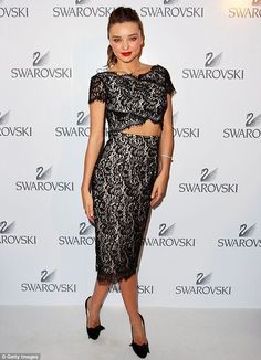 NONI SMITH for Miranda Kerr Swarovski Dinner