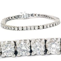 4.00CT Diamond Tennis Bracelet 14K White Gold | Your #1 Source for Jewelry and Accessories