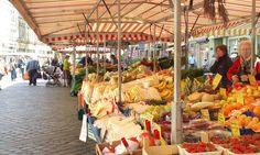 Market in Bamberg Germany
