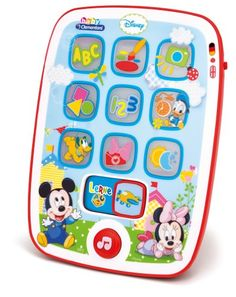 Clementoni Mickey 69290.3 Baby Tablet with Play and Learning Modes [German Language]