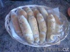 Recept na teplé křupavé rohlíčky jako od pekaře.