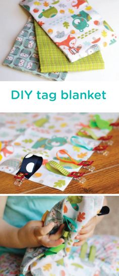 Whether you're nesting and preparing your nursery or looking for a baby shower gift idea, this DIY tag blanket tutorial could be a great project for you. Learn how to easily create this classic handmade baby toy that is loveable, soft and safe.