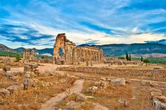 Ancient Ruins of Volubilis, Morocco
