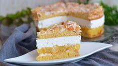Baking Recipes, Dessert Recipes, Desserts, Bread Dough Recipe, Kolaci I Torte, Croatian Recipes, Cheesecake Cake, Gluten Free Cakes, No Bake Cake
