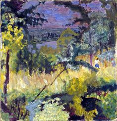 View of the River-Vernon, Pierre Bonnard-1923