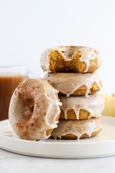 Pumpkin Donuts with