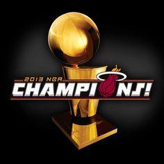 Miami Heat 2013 NBA Champions