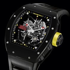 Richard Mille's limited edition  RM035 Rafael Nadal for the Americas