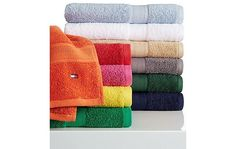 Tommy Hilfiger All American Bath Towel Collection $1.90 (macys.com)