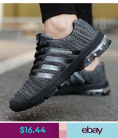 2e2642256b 2018 New Trend Running Shoes for adults Breathable Air Mesh air cushion  Athletic Sports walking jogging male Fitness Sneakers