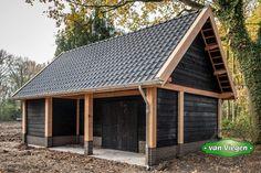 Outdoor Buildings, Timber Buildings, Outdoor Structures, Carport Sheds, Carport Garage, Pavilion Design, Modern Garage, Timber Frame Homes, Garden Office