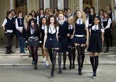 From faking your period to get out of PE, to rolling your skirt to indecent lengths, there are certain things only all girls school graduates will appreciate… All Girls School, School Uniform Girls, S Girls, School Outfits, School Wear, St Trinians, Student Fashion, School Fashion, Japanese School Uniform
