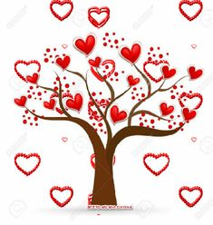 Oye our love tree🥰😍🥰😍growing bigger and stronger with every passing day ❤❤❤😘🤗🤗😘 I Love You Means, Love You Gif, Cute Love Gif, Animated Heart, Animated Gif, Valentine Day Love, Valentines, Animation, Coeur Gif