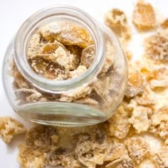 So good for baking - Homemade Candied Ginger for snacking or baking.
