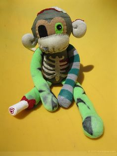 Lugosi, Zombie Sock Monkey