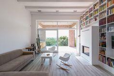 The Long Brick House by Földes & Co. Architects @ Pilisborosjeno, Hungary