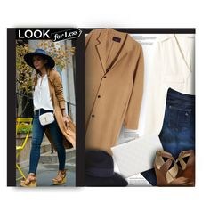 """""""Fall Look For Less"""" by rigginsbabygirl ❤ liked on Polyvore featuring H&M, rag & bone, GUESS, Lucky Brand, Iris & Ink, women's clothing, women, female, woman and misses"""