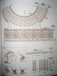 * Accessories and decoration of clothing. *   * Russian site, but lots of diagrams.