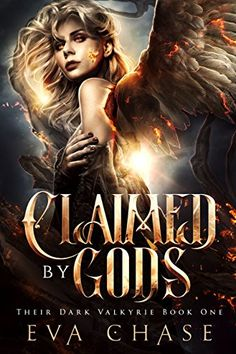 Claimed By The Gods by Eva Chase This fantasy romance had interesting characters, action, suspense, and a strong heroine, but the missing backstory and the surprise cliffhanger had Spice wanting to throw her iPad more than once. Fantasy Books To Read, Fantasy Book Covers, Fantasy Book Reviews, Love Book, Book 1, Book Series, Paranormal Romance Books, Fantasy Romance, Ya Books