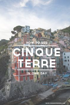 We flew from Paris to Pisa, where we took a train to La Spezia and then on to Riomaggiore. We stayed in the coolest place in Riomaggiore ...