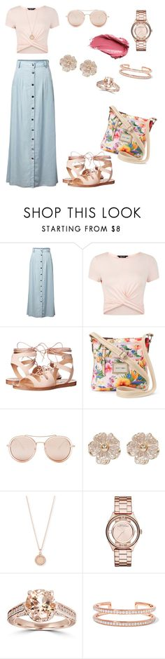 """""""12:45pm"""" by stylesbycole94 ❤ liked on Polyvore featuring Urban Decay, Chicnova Fashion, New Look, Steve Madden, Rosetti, Betsey Johnson, River Island, Astley Clarke, Marc Jacobs and Bliss Diamond"""