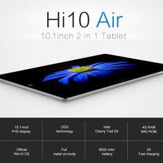 Original Box CHUWI Hi10 Air 64GB Intel Z8350 10.1 Inch Windows 10 Tablet With Keyboard Stylus