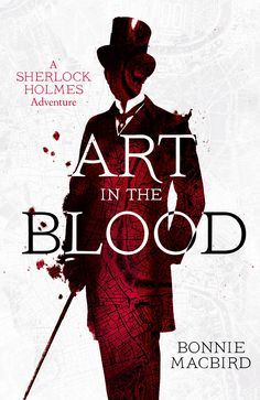 Art in the Blood cover design Stuart Bache (Collins Crime Club / 2015)