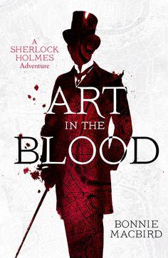 Art in the Blood cover design Stuart Bache (Collins Crime Club / 2015)