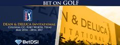The DEAN & DELUCA Invitational takes place in the Dallas-Fort Worth area in the month of May each year. Golf Events, Golf Betting, Golf Pga, Dean, Moose